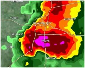 Moore OK Tornado Radar