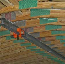 Hoist Mounted To Wood Trusses