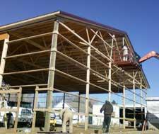 Pole Building Construction