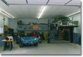 Nebraska on the Motorcycle: Classic Vehicle Storage