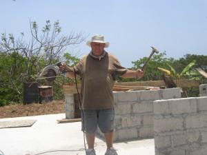 Pole Building Man Land