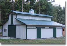 Metal Barn Kits >> Metal Barn Kit Hansen Buildings