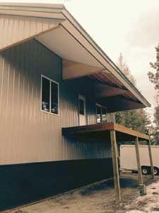 Cantilever Roof Overhangs