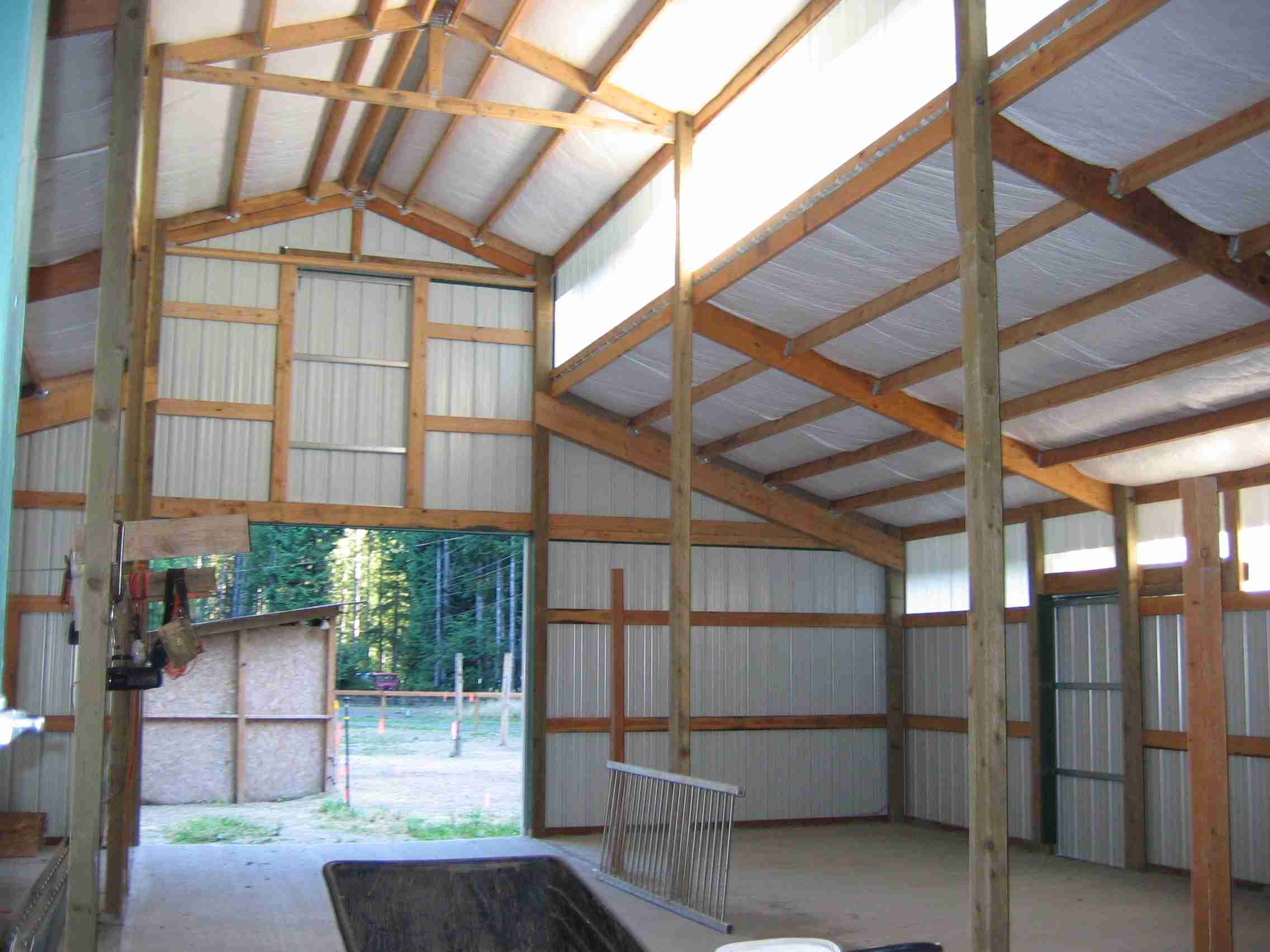 Monitor Barn Interior
