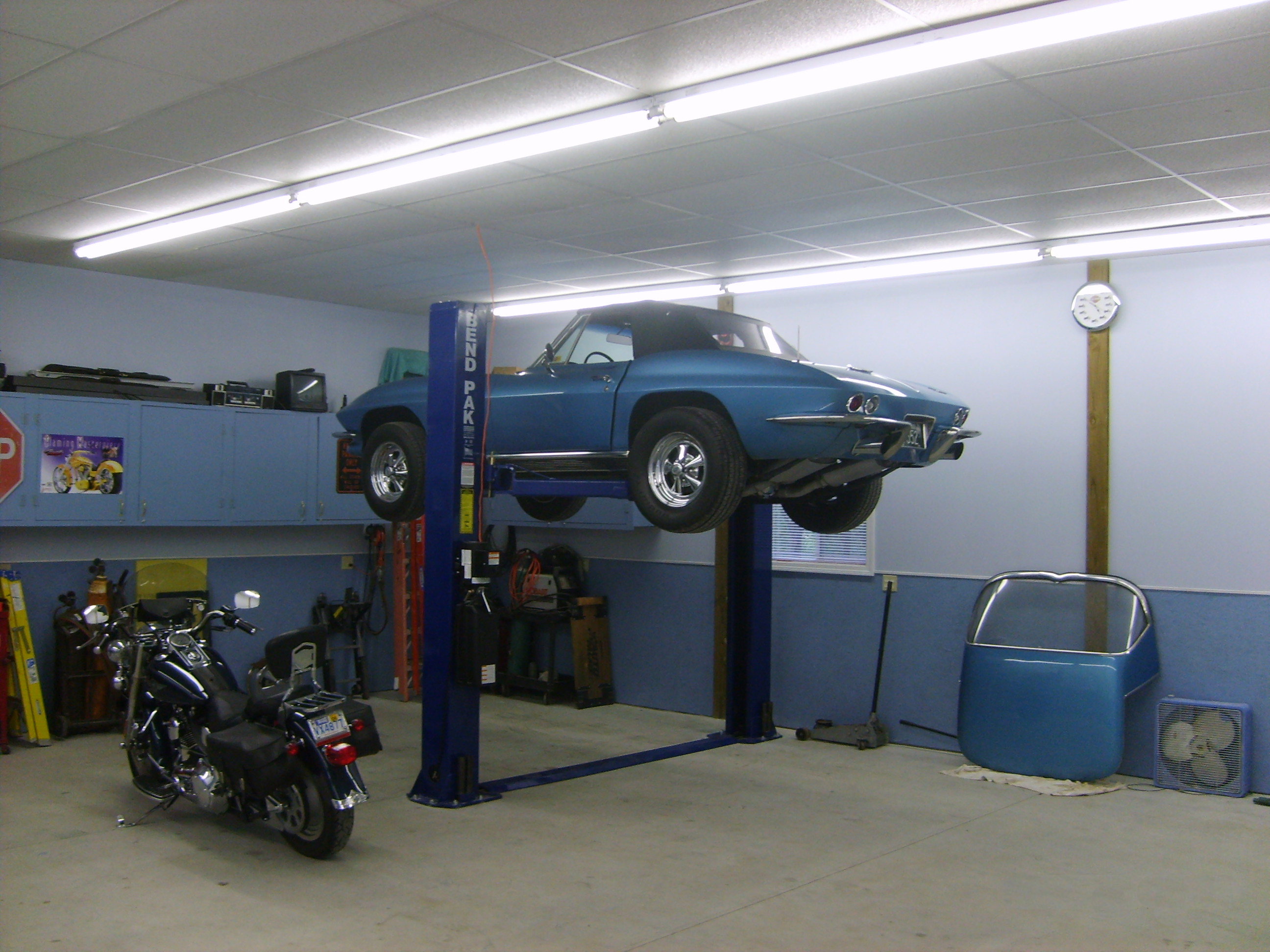 Car Shop Interior