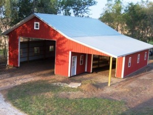 Custom Designed Pole Barn
