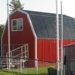 Gambrel Concessions Building