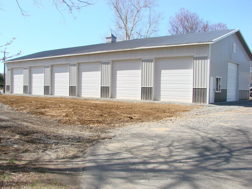 Pole barn prices hansen buildings for Large garage kits