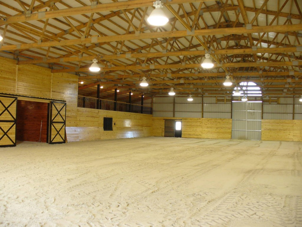 Riding Arena Interior