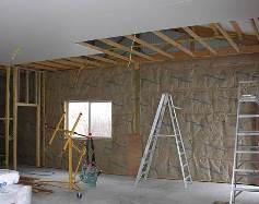 Insulation Between Roof Purlins