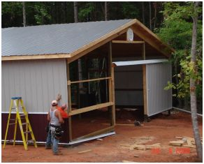 Repurposing a Pole Building