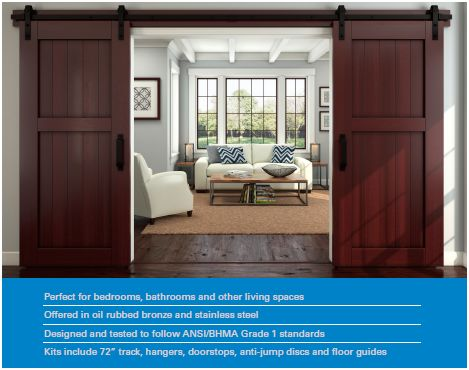 Barn Doors Go Upscale And Move Inside Hansen Buildings