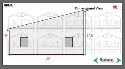 Designing A Single Slope Pole Building Hansen Buildings
