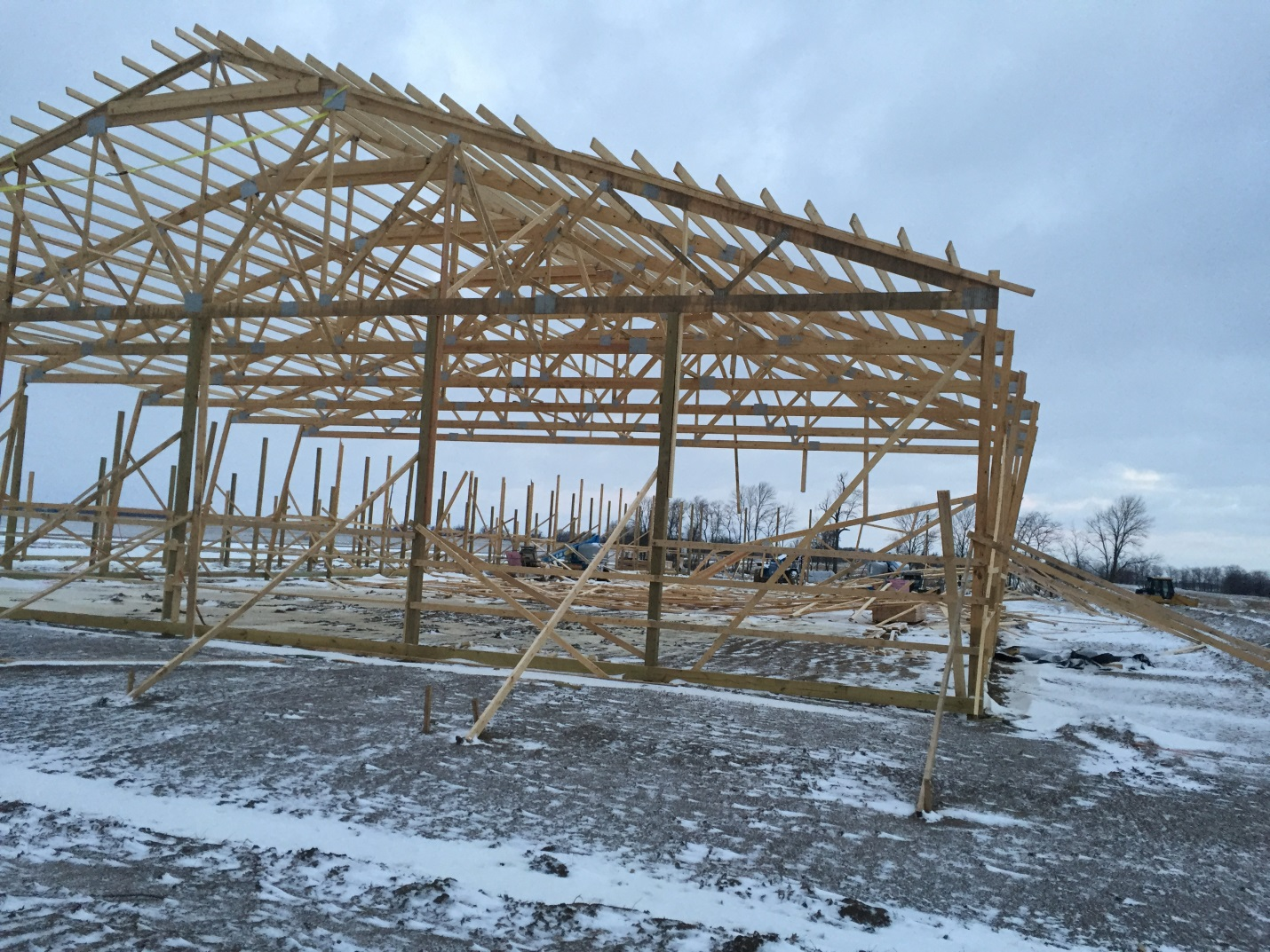 Temporary Bracing to Avoid Under Construction Mishaps