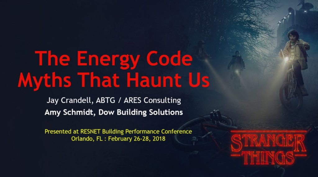 Energy Code Myths