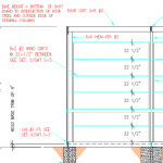 Ladder Framing, Use of Red Cedar Posts, and Custom Steel Trusses