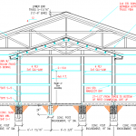 Wall Girt Spacing, Roof Only to Fully Enclosed, and Dade Cty