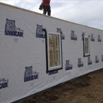 Tyvek Weather Barrier, Overhead Door Sizes, and Slab Insulation