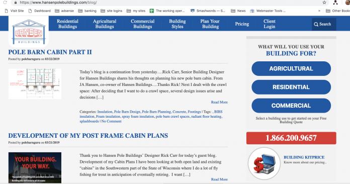 Pole Barn Guru Blog Review