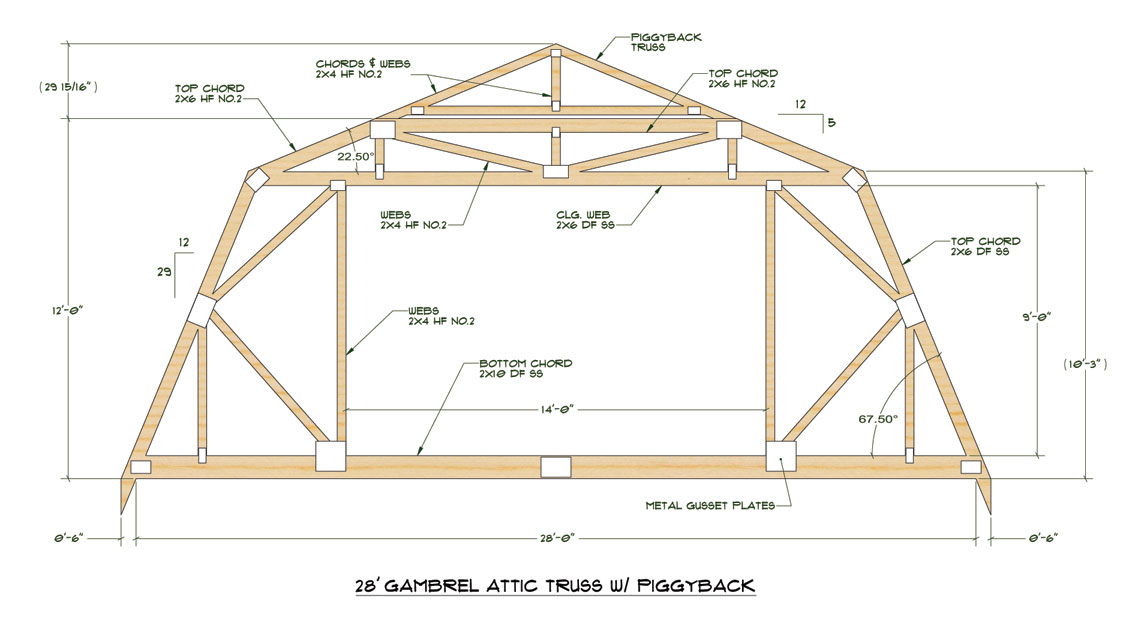 Maximizing Post Frame Gambrel Space
