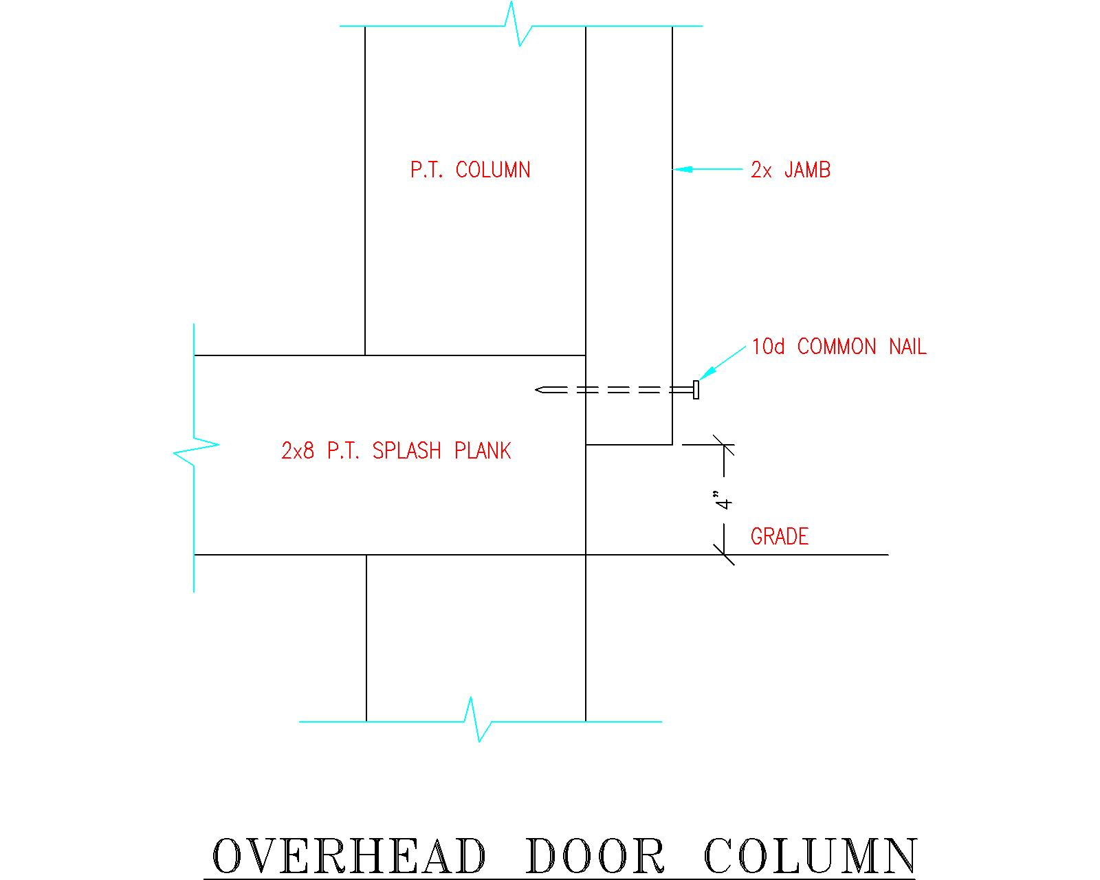 Overhead Door Jambs