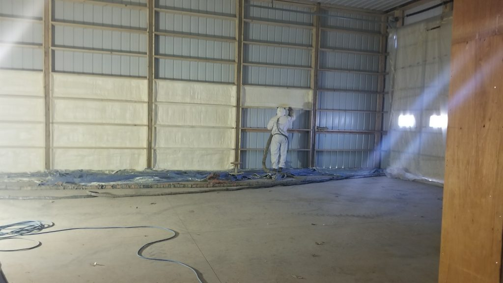Spray Foam Insulation and Steel Roofing and Siding