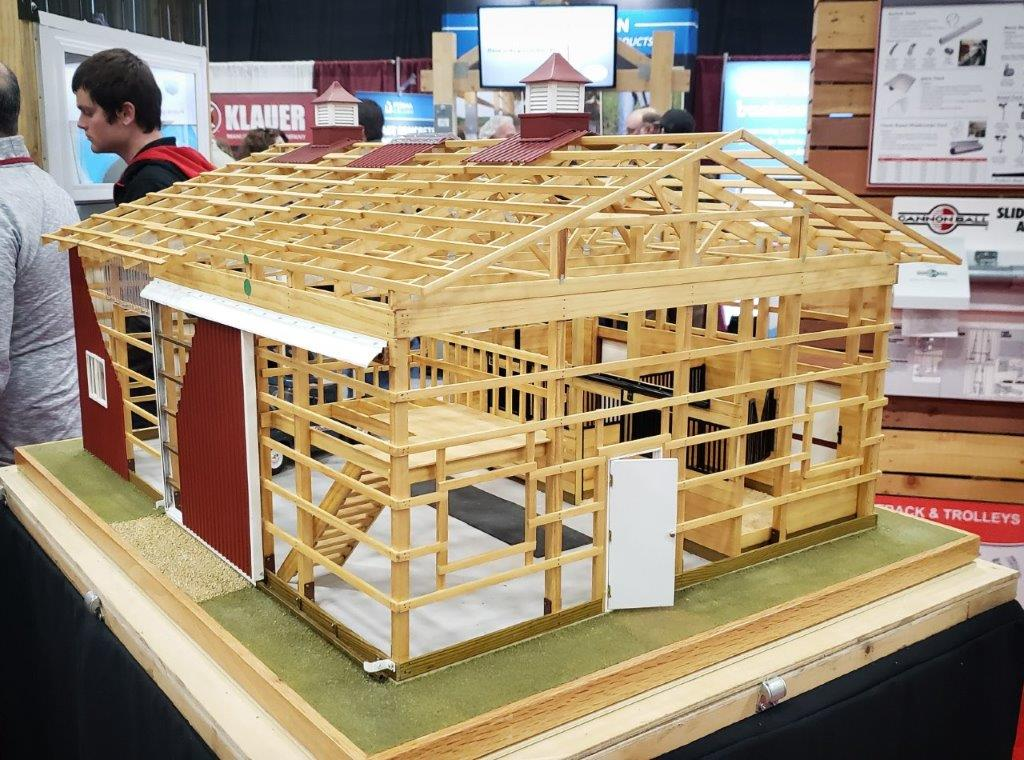 A Model Post Frame Building