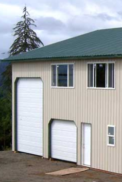 A Shouse, Adding Tin to Block Siding, and Truss Carriers