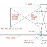 Mounting Door Tracks, A Post Frame Inquiry, and Floor Options